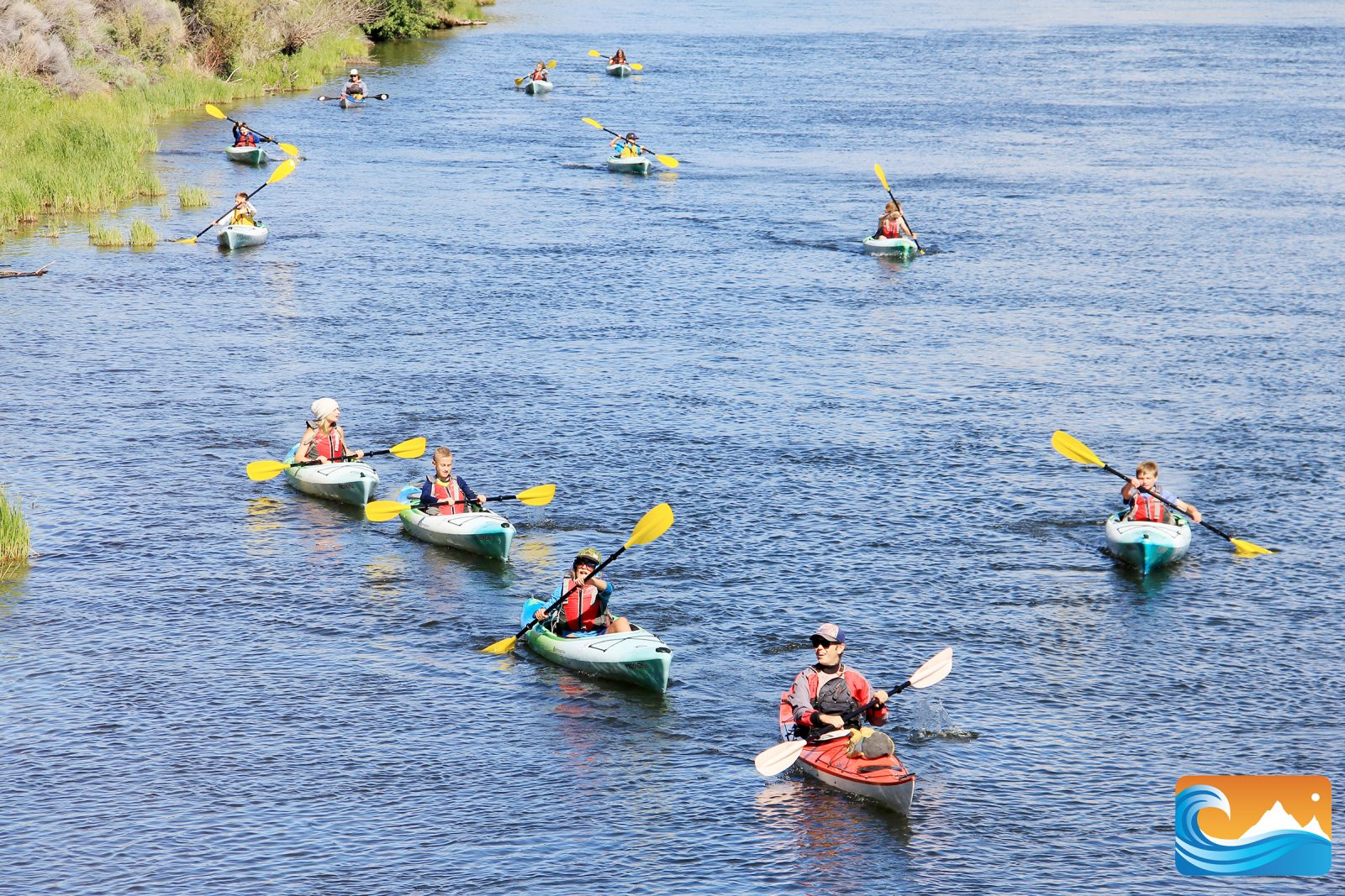 Paddle & float the Deschutes river
